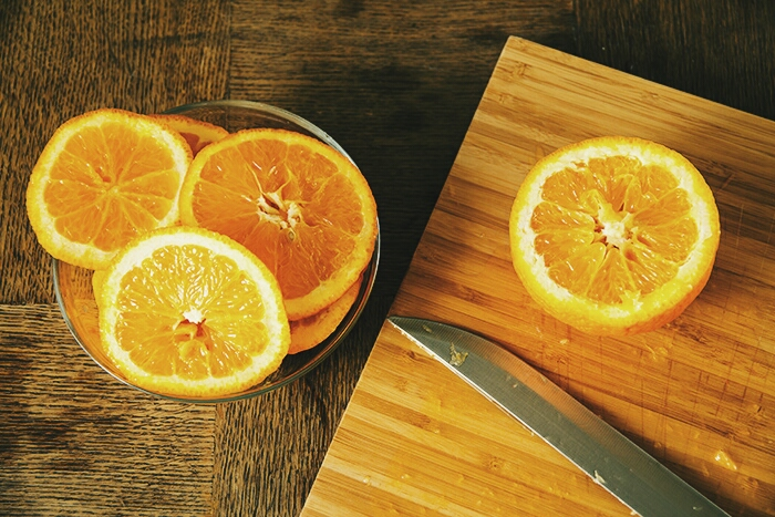 orange slicing
